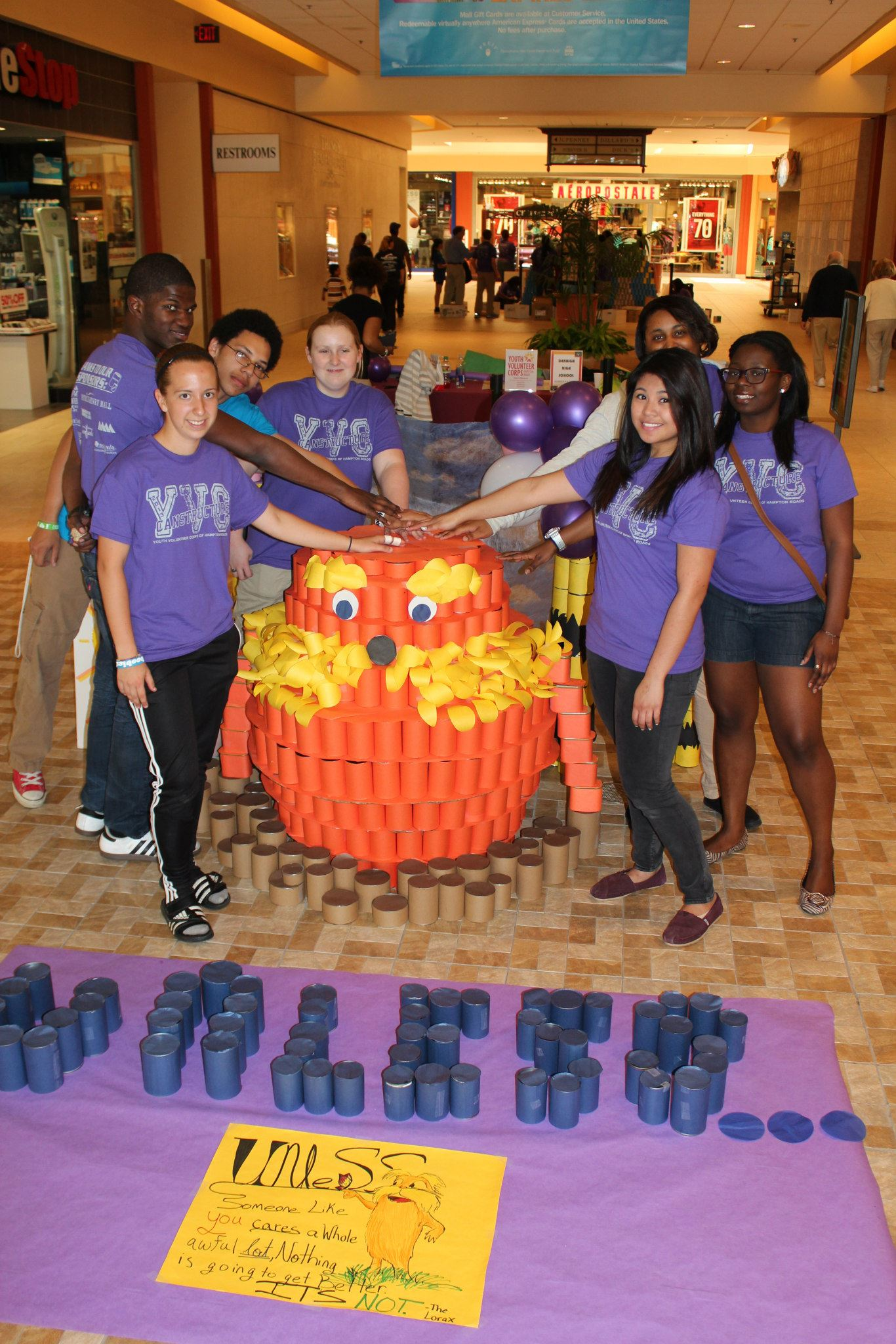 YVC of Hampton Roads – Art out of Cans