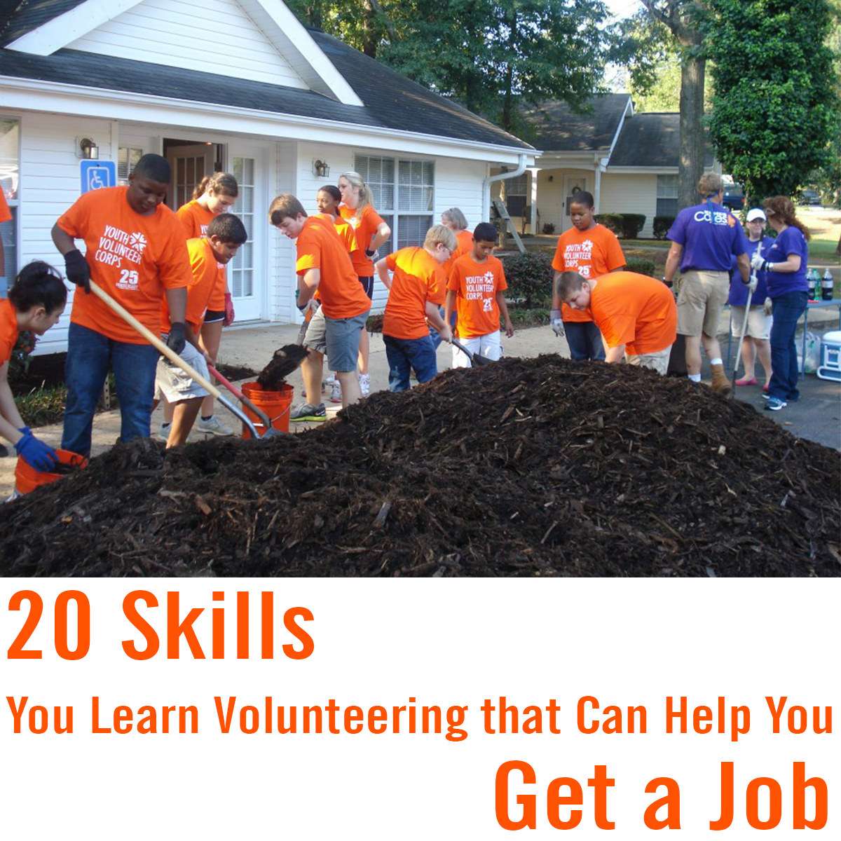 20 Skills You Learn Volunteering to Help You Get a Job