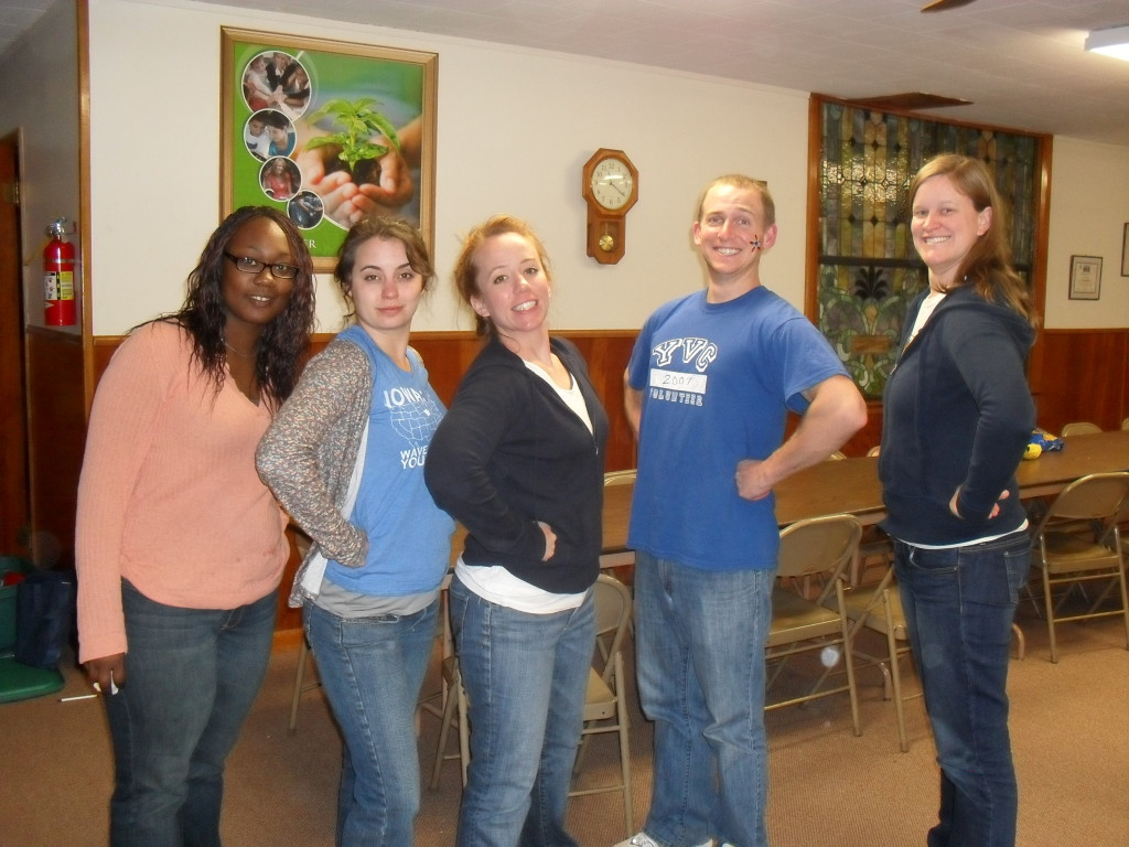 2009-2010 YVCKC AmeriCorps members and staff (both AmeriCorps alums!)