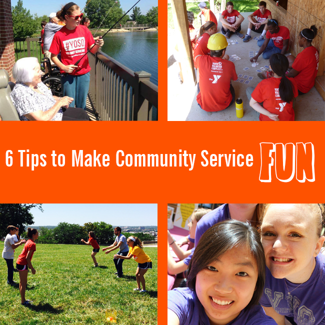 Not Just Hours: 6 Tips for Fun Community Service