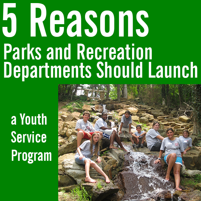 Parks and Recreation + Youth Service