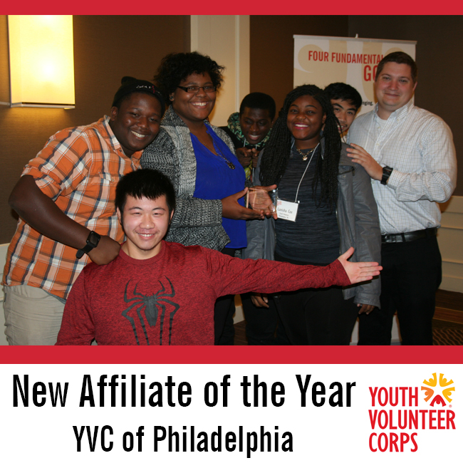 New Affiliate of the Year: Philadelphia