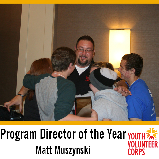2015 YVC Program Director of the Year: Matt Muszynski