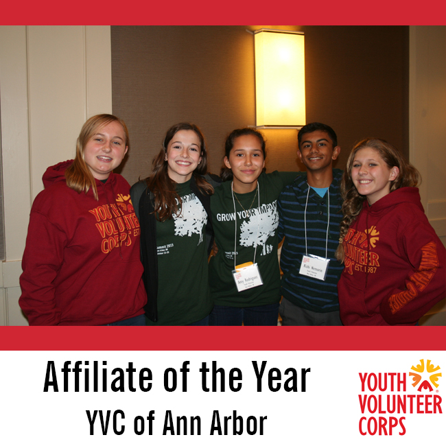 2015 Affiliate of the Year: YVC of Ann Arbor
