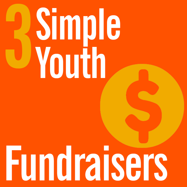 3 Simple Youth Fundraisers