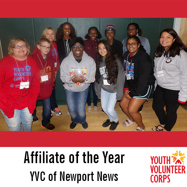 2016 Affiliate of the Year: YVC of Newport News