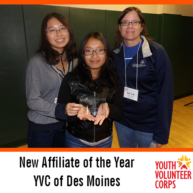 2016 New Affiliate of the Year: Des Moines