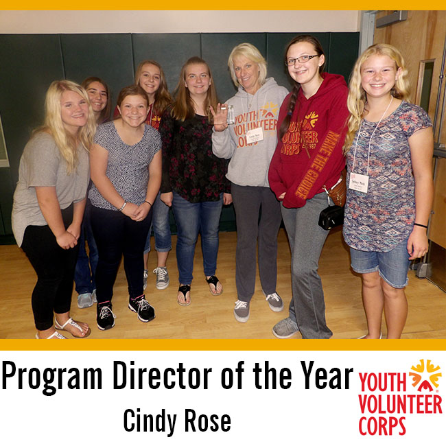 2016 YVC Program Director of the Year: Cindy Rose