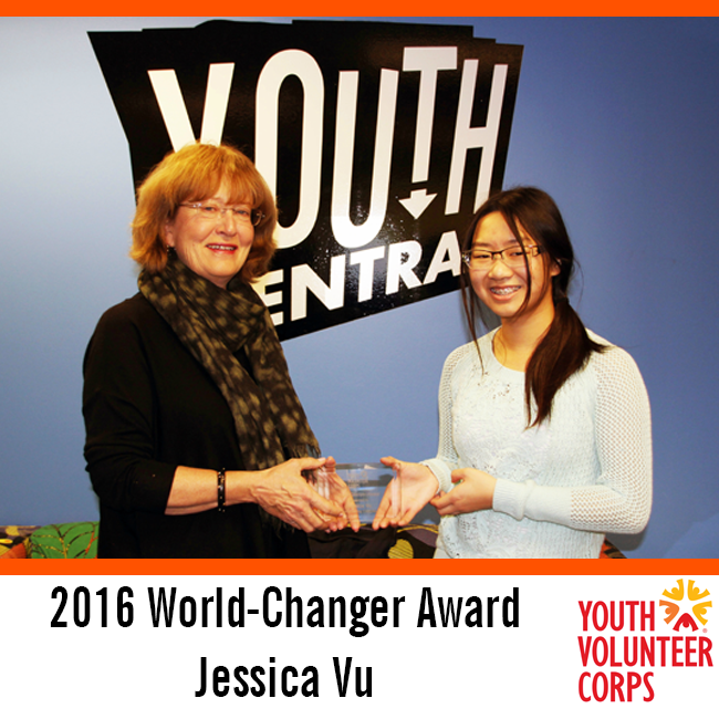 2016 YVC World-Changer Award: Jessica Vu