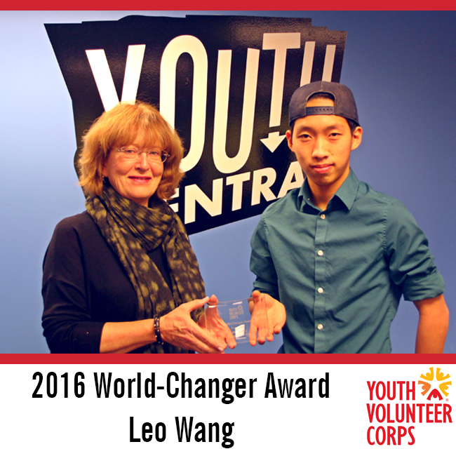2016 YVC World-Changer Award: Leo Wang