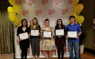 Youth Volunteer Corps Celebrates Volunteers and Leaders at Summit 2019